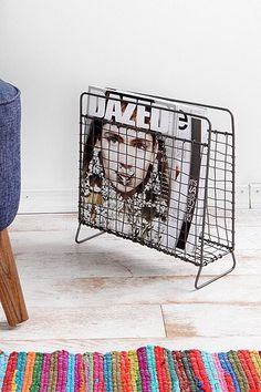 Wire Magazine Holder