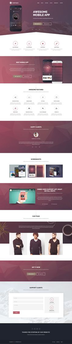 37 Best Web Template images in 2019 | Html templates