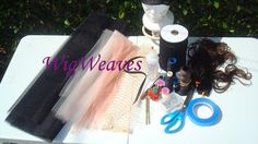 Ventilating Supplies for Lace Wig Making