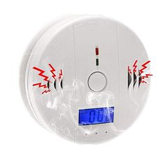 Analytical Co Carbon Monoxide Smoke Integrated Alarm Detector Voice Warn Sensor Home Security Protection High Sensitive 2 In 1 Lcd Convenient To Cook Fire Protection Carbon Monoxide Detectors