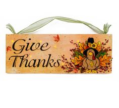 Thanksgiving Decor, Turkey with Harvest LED Lighted Canvas Painting/Picture for Indoor