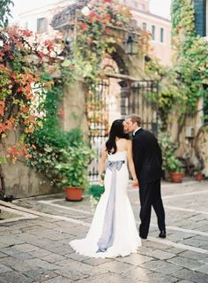 Where to Get Married Wednesdays: Cheap Italy Destination Wedding, read on at My Inspired Wedding!