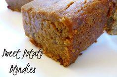 Moist and Decadent Sweet Potato Blondies to Die For! [Vegan, Gluten-Free]