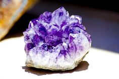 Pineapple amathyst, one of my favorites! All Birthstones, Birth Stones, Rocks And Minerals, Girls Best Friend, Interesting Stuff, Natural Beauty, Pineapple, February, Amethyst
