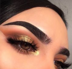 Gorgeous Makeup: Tips and Tricks With Eye Makeup and Eyeshadow – Makeup Design Ideas Makeup On Fleek, Glam Makeup, Eyeshadow Makeup, Gold Eyeshadow, Drugstore Makeup, Sephora Makeup, Eyeshadows, Eyeshadow Palette, Gorgeous Makeup