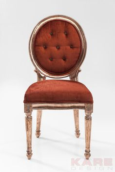 Chair Louis Red Copper