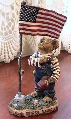 "Sammy Bearmerican ""I Pledge Allegiance, to the flag. Patriotic Bedroom, Happy Birthday America, Bear Hugs, Calendar Wallpaper, My Teddy Bear, Boyds Bears, I Fall In Love, Red And White, Plush"