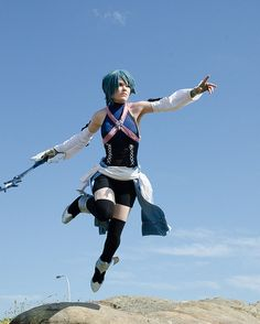 Aqua - Kingdom Hearts Cosplay @Sarah Chintomby Chintomby Chintomby Beth Redlhammer