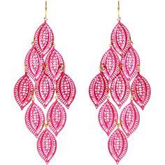 Amrita Singh Selina Leafy Earrings ♡♡♥