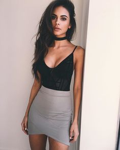 When your outfit is on point.  @sophiamiacova head to toe in #tigermist skirt & bodysuit available now. ❤️