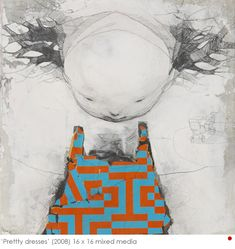 Ryan Price Art Journal Inspiration, Painting Inspiration, Ryan Price, Art Corner, Robot Art, Outsider Art, Recycled Art, Retro Futurism, Surreal Art
