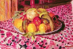 Still Life (oil on canvas),Bonnard, Pierre(1867-1947)