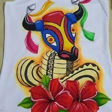 Resultado de imagen para camisetas de carnaval pintadas a mano Carnival Crafts, Tadashi, Hibiscus, Tigger, Disney Characters, Fictional Characters, Lily, Drawings, Painting