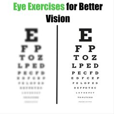 Eye Exercises to Improve Vision Good Health Tips, Natural Health Tips, Health Advice, Fitness Quotes, Men's Fitness, Muscle Fitness, Gain Muscle, Muscle Men, Build Muscle