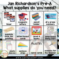 Jan Richardson developed the Pre-A to prepare kindergartners for guided reading with a routine and meaningful structure. This post steps it out for you. Guided Reading Lessons, Guided Reading Groups, Reading Centers, Reading Resources, Reading Levels, Reading Workshop, Readers Workshop Kindergarten, Kindergarten Reading, Teaching Reading