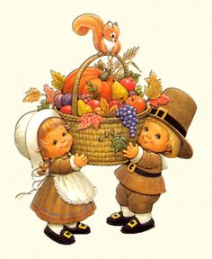 Free Thanksgiving day animations and clipart, featuring cornucopia's, pilgrims, native Americans and other fall harvest images. November Thanksgiving, Friends Thanksgiving, Thanksgiving Pictures, Thanksgiving Blessings, Thanksgiving Greetings, Vintage Thanksgiving, Thanksgiving Activities, Thanksgiving Crafts, Thanksgiving Decorations