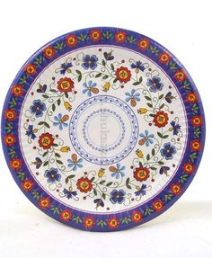 Kashubian paper plate 22 cm. More colors and models www.phukaszub.pl