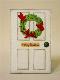 WT243 Door Decor by sleepyinseattle - Cards and Paper Crafts at Splitcoaststampers
