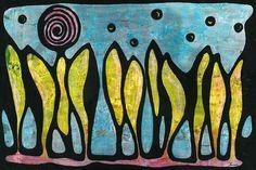 Forest (Acrylic) - I love forest - 2003 - Arek Jackowski - http://www.jackowskidesign.com/paintings/