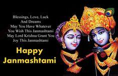 Happy Krishna Janmashtami Wishes in Hindi, Shayari SMS Msg in English Happy Janmashtami Quotes, Janmashtami Wishes, Krishna Janmashtami, Online Personal Trainer, Reasons To Be Happy, Wish Quotes, Lord Krishna, Finding Peace, Wallpaper Quotes
