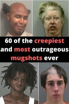60 of the creepiest and most outrageous mugshots you've ever laid eyes on Bizarre Pictures, Funny Pictures, Secret Crush Quotes, Funny Jokes, Hilarious, Funny Tweets, Things About Boyfriends, Big Music, Girl Facts