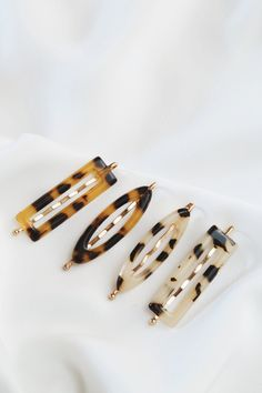 Women Vintage Leopard Hair Clip Comb Bobby Pin Barrette Hairpin Hair Accessories