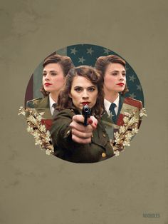 Agent Peggy Carter-one of my few celebrity crushes
