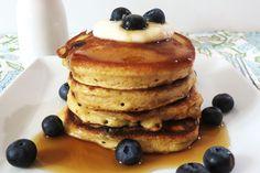 Healthy Blueberry Lemon Pancakes recipe - Foodista.com
