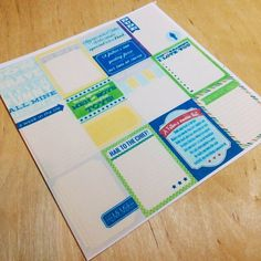 Stickers) Follow us on the Instagram @papypaper. #Stikers #planners #plannersprintable #printablestickers #erincondren #kikkik #filofax #plumpaper