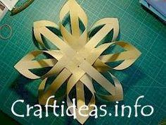 Great Finnish Paper star for Christmas!  Teacher gift?