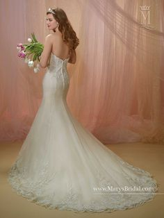 6a7fb2acad4d Bridal Gowns - Unspoken Romance - Style: 6491 by Mary's Bridal Gowns Mary's  Bridal,