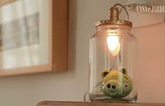 Cinco em 1: Lumin�ria personalizada para decorar quarto infantil