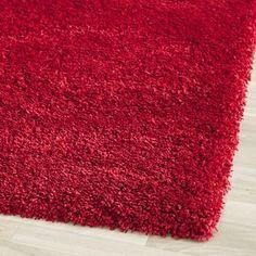 safavieh california shag red rug walmart 5 star rating