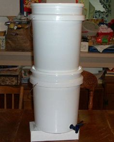 Home Made Berkey Water Filter by Daire