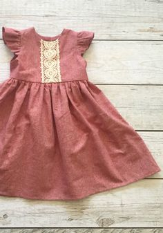 Beautiful Handmade Linen Dress | ThePatheLessRaveled on Etsy