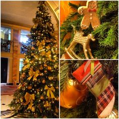 Festive details at The Dorchester, London #holidaycheer