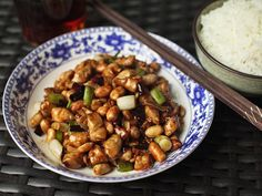 The Food Lab: The Realest-Deal Kung Pao Chicken (Gong Bao Ji Ding)     J. KENJI LÓPEZ-ALT         ... Tthis is the third recipe for kung pao chicken that I've published here on SE in the last 7 yrs. The first version was funky n fiery w/ fermented chili bean paste, chicken thighs, n leeks. The second was a decidedly milder version made w/ bell peppers n celery, just like at those Upper West Side Chinese takeout joints. This version is based upon the kung pao chicken...