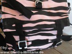 BW Kampftasche klein, Zebra, schwarz-pink