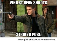 Work it, Sammy!| Supernatural | Funny Pictures, Funny Images