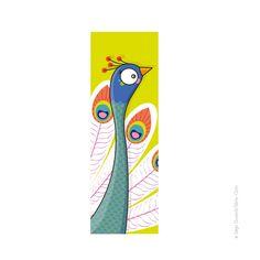 Tableau Tête de Paon (20x60 cm) Série-Golo : Voici un tableau pleins de couleurs ! ......................................................... Printed painting Head of a Peacock (20x60 cm) Série-Golo : Hey! Watch out for the peacock photo shoot !