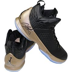 7567c139ddfd Carmelo Anthony Hand Signed Right Shoe Jordan Melo M11 Bronzeblack Sneaker  Pair Size 13     You can get additional details at the image link.