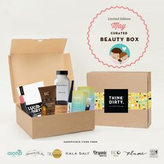 We are partnering with rated clean 0-3 beauty brand sponsors1 who support our mission to bring the most requested beauty box to you. Each box comes with 8 hand-picked, rated clean beauty products, a full she-bang of Think Dirty swag goodies and lots of love. Valued at over $250, specially offered to you for $95 US!    The Think Dirty Clean Beauty box is the perfect gift for health-conscious significant others, hard-core yogi friends, or kale-loving besties. Or better yet, show yourself some…
