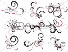 filigree design tattoos | Image 3591149: Abstract tattoo from Crestock Stock Photos