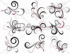 filigree design tattoos | Image 3591149: Abstract tattoo from Crestock Stock Photos