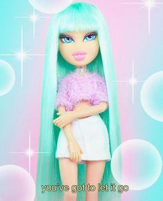 Bratz Doll Outfits, Black Bratz Doll, Brat Doll, Bratz Girls, Baby Girl Dolls, Bad Gal, Cute Wallpapers, Desktop Wallpapers, Beauty Make Up