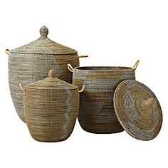 Baskets for nursery - toys; Serena and Lily $68-$148 depending on size