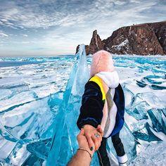 Murad Osmann @muradosmann #followmeto Lake Baikal