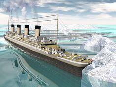 Titanic Ship - Render by Elenarts - Elena Duvernay Digital Art Titanic Sinking, Titanic Ship, Rms Titanic, Belfast Museum, Sept 1, National Geographic Kids, Boat Art, Maritime Museum, Travel
