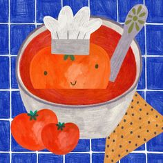 10 days to official premiere of this tiny book about tomato soup! Ciiiiii I will have few of them for you! #illustration #drawing #food #book #art #illustrator #instart #artist #tomato #red #childrensbook #kids #fun #colors #illustrations #illu #instaartist #poland #instafood #children #bookstagram #foodporn #egmont #reading #premiere #august #fun