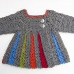 Eloise Baby Sweater :: free pattern in 0-6 mths and 6-12 mths -- check website - bigger sizes as well!
